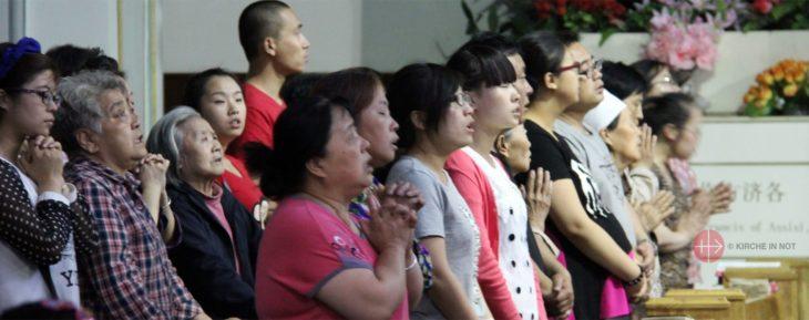 Gebet für die Kirche Chinas