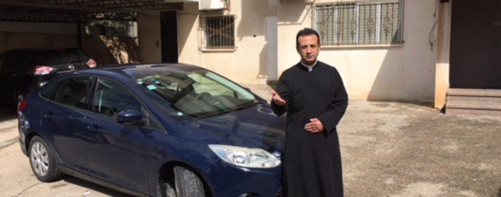 Wohltäter von KIRCHE IN NOT ermöglichen ein Fahrzeug für einen Priester in Israel