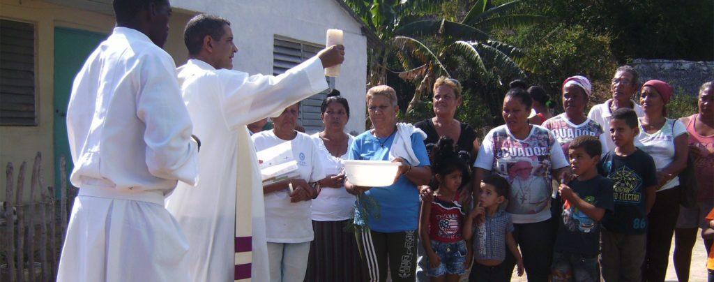 Ihre Hilfe für die Volksmissionen in Guamà II in Kuba