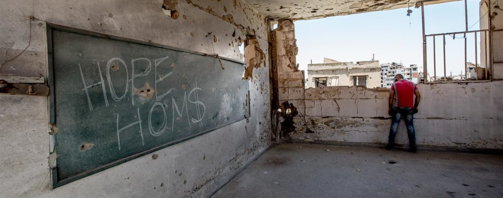 Kinder aus den Trümmern: Unterstützung für den Wiederaufbau in Syrien