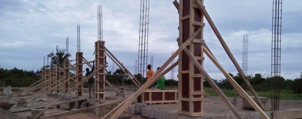 Ghana: Bau einer Dorfkapelle