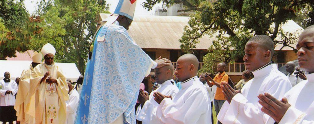 Republik Kongo: Ausbildungshilfe für Seminaristen
