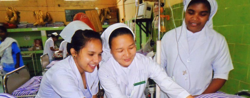Indien: Ausbildungshilfe für 28 junge Ordensfrauen
