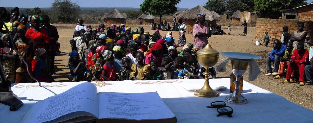 Zentralafrikanische Republik: Druck des Neuen Testaments auf Sango