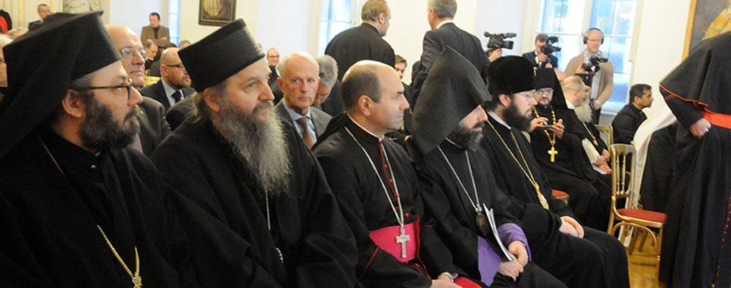 Katholisch-orthodoxes Gipfeltreffen in Wien
