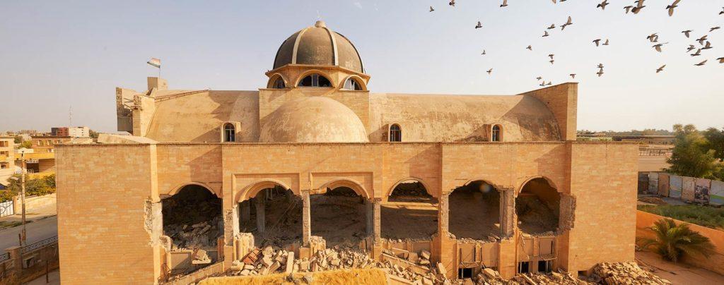 Christen kehren in die zerstörte irakische Stadt Mossul zurück