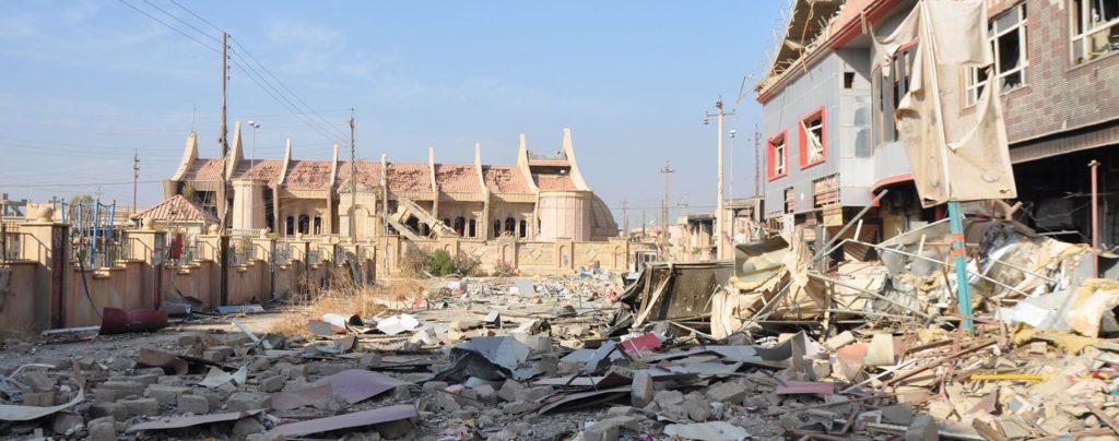 Wiederaufbau in der Ninive-Ebene: In die Trümmer kommt wieder Leben