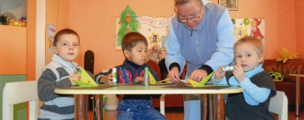 Dank Ihrer Hilfe konnte ein Waisenhaus in Kasachstan ausgestattet werden