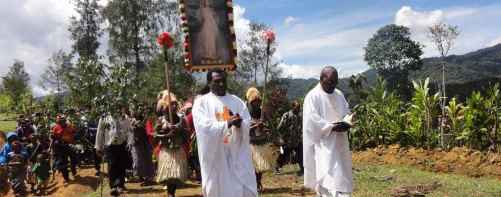 Dank Ihrer Mess-Stipendien können Priester in Papua-Neuguinea überleben