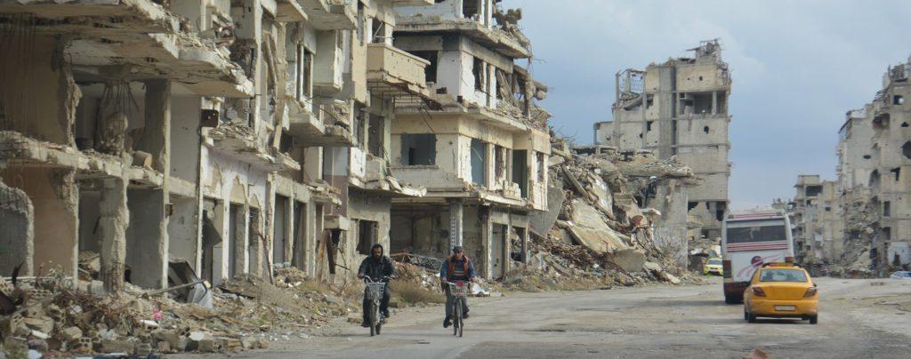 """""""Das Ende des Syrienkriegs liegt in der Hand der internationalen Gemeinschaft."""""""