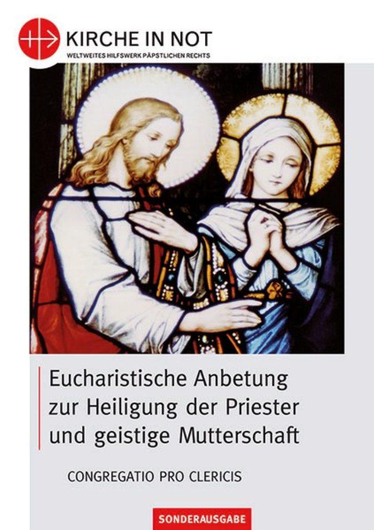 Eucharistische Anbetung<br>Großdruck