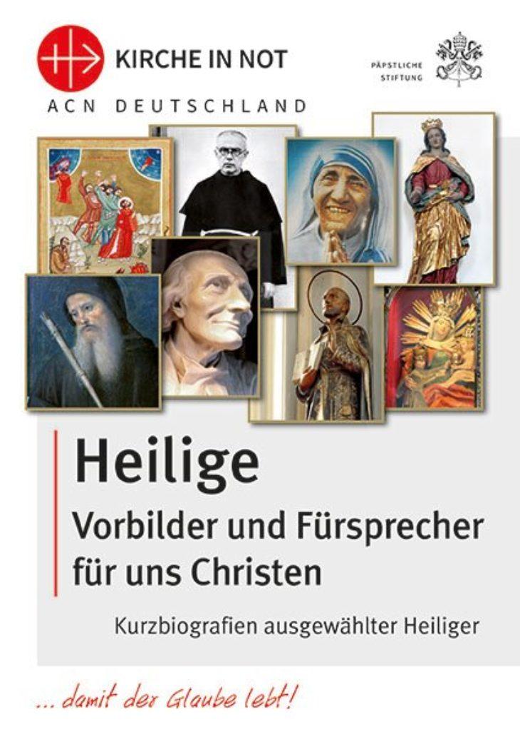 Heilige - Vorbilder und <br>Fürsprecher für uns Christen