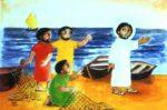 55 Poster<br> mit Motiven aus der Kinderbibel