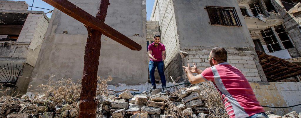 Liebende Nähe zu den Menschen in Syrien