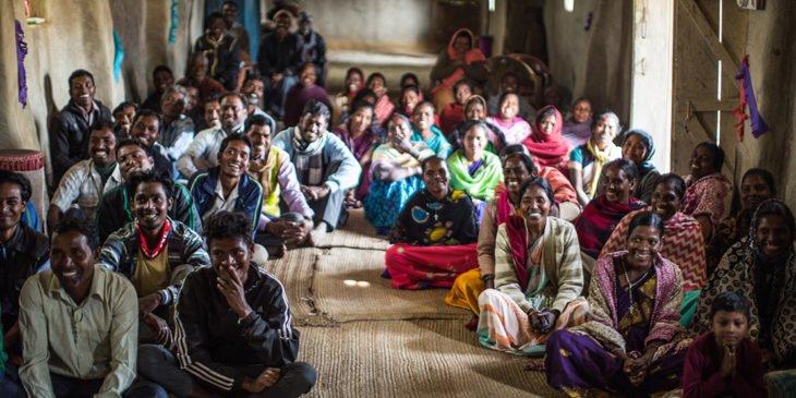 Gottesdienst in Indien.