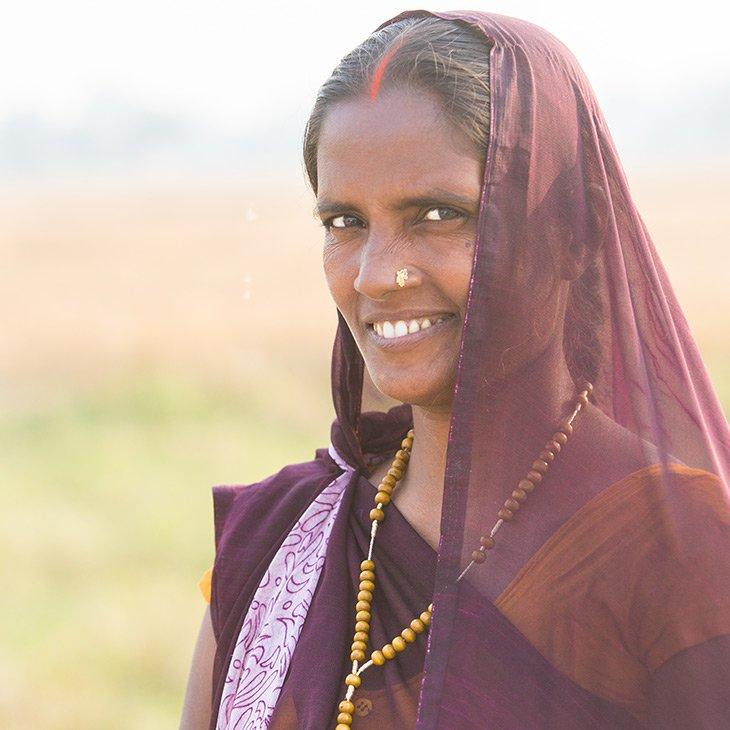 Christin aus Indien.