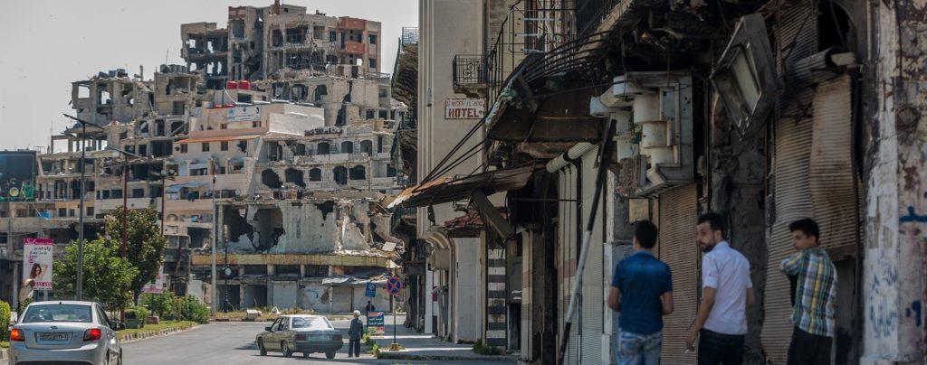 """Rückkehr nach Hause: """"Ich möchte gerne nach Homs zurück"""""""