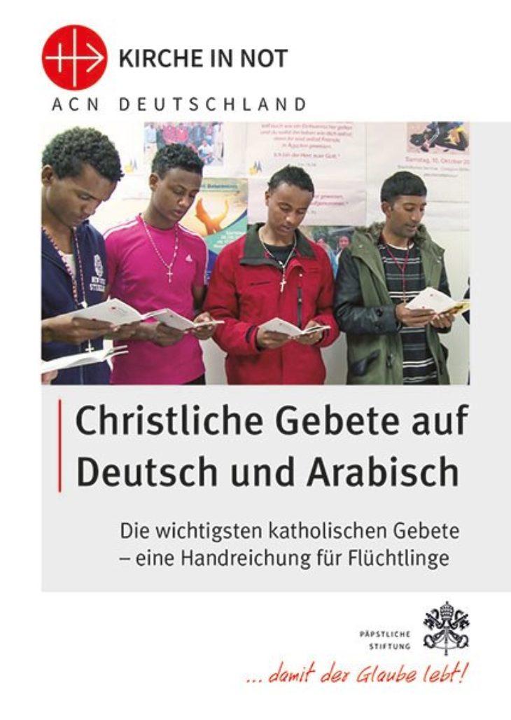 Christliche Gebete<br>auf Deutsch und Arabisch