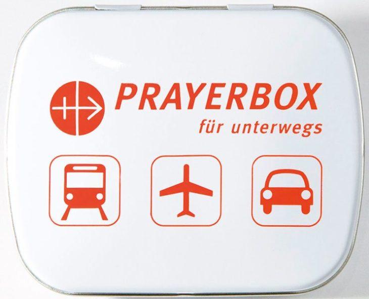 Prayerbox<br> für unterwegs