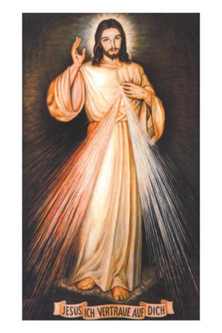 "Faltblatt <br>""Barmherziger Jesus"""