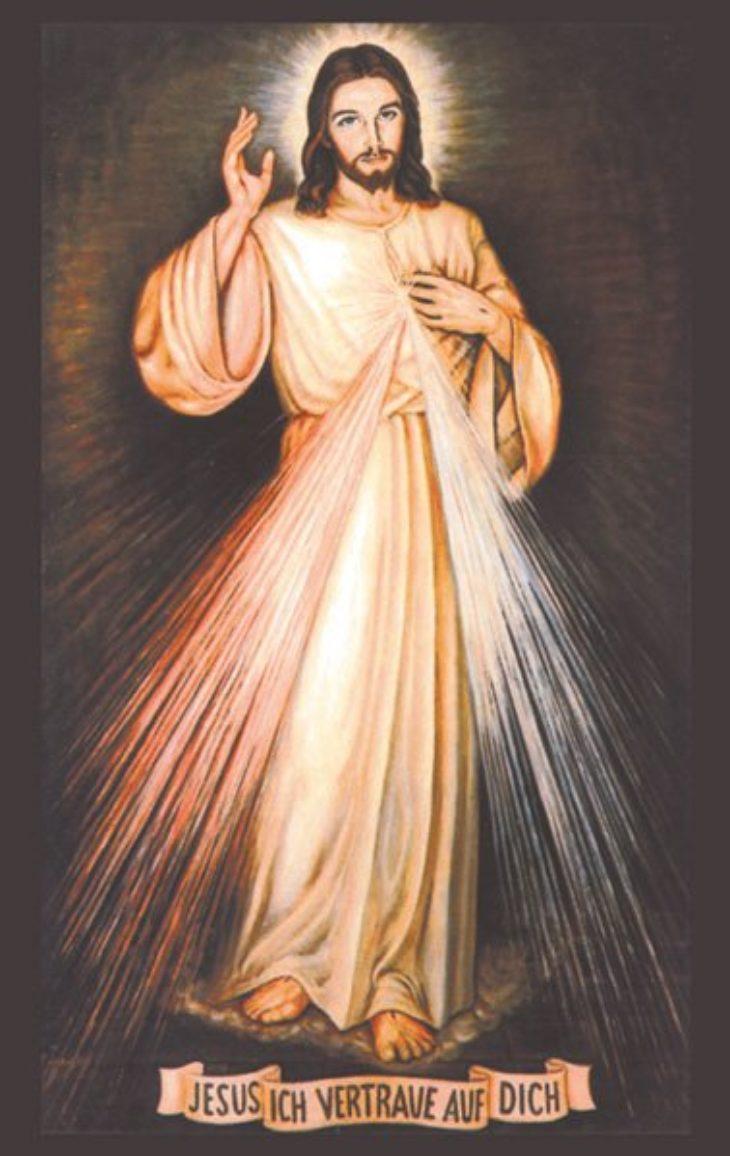 "Gebetskarte <br>""Barmherziger Jesus"""