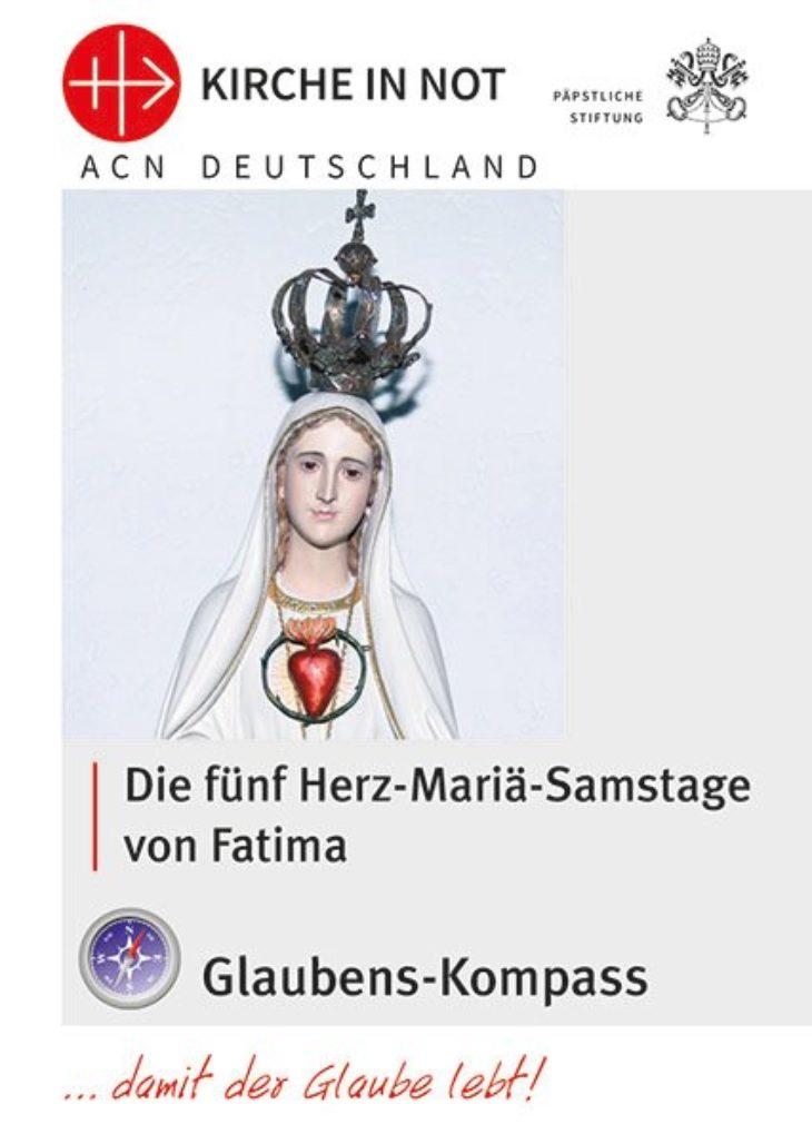 """Glaubens-Kompass - """"Sühnesamstage"""" – Die 5 Herz-Mariä-Samstage von Fatima"""