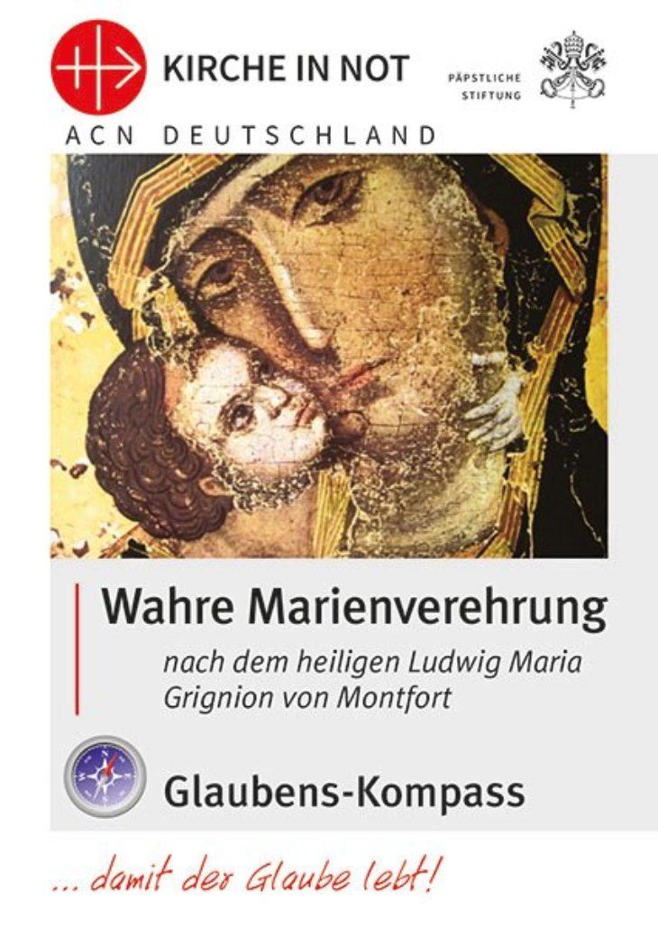 """Glaubens-Kompass <br>""""Wahre Marienverehrung"""""""