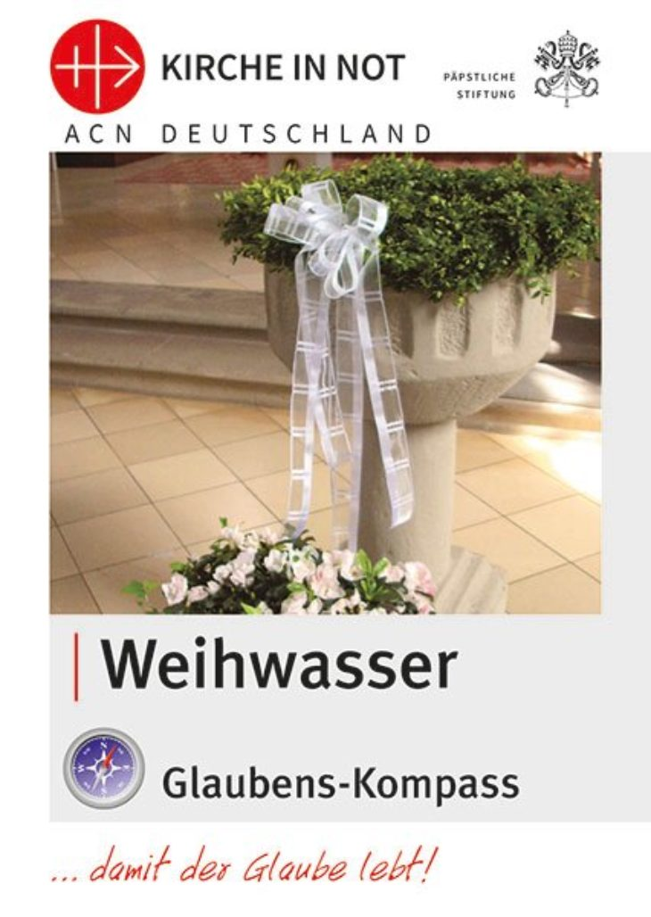 """Glaubens-Kompass<br> """"Weihwasser"""""""