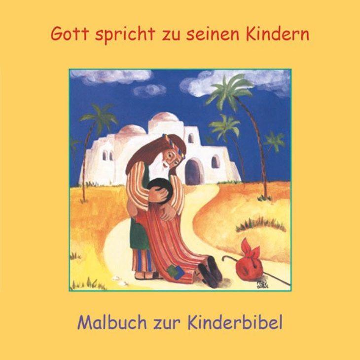 Kinderbibel-Malbuch