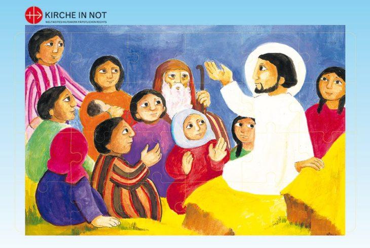 Kinderbibel-Puzzle