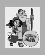 5 Bibelsticker-Tütchen<br> mit je 5 Stickern