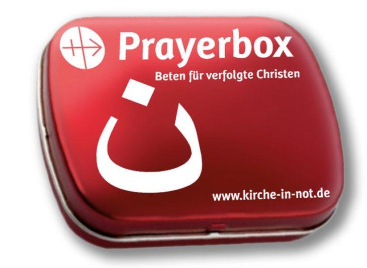 Prayerbox - <br />für verfolgte Christen