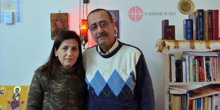Die Eltern von Fadi Mora.