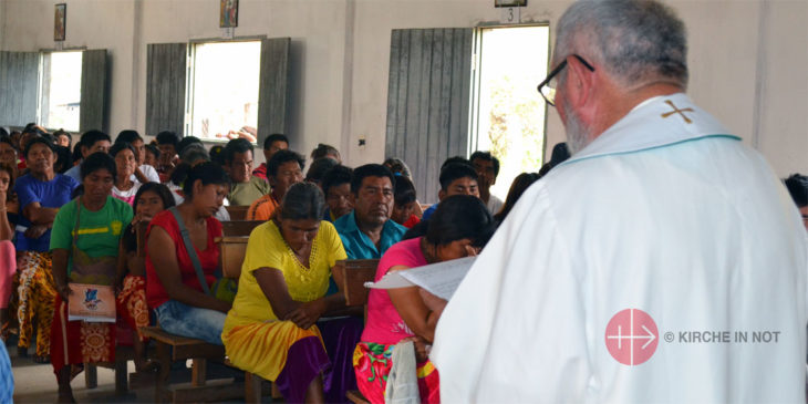 Gottesdienst in Paraguay.