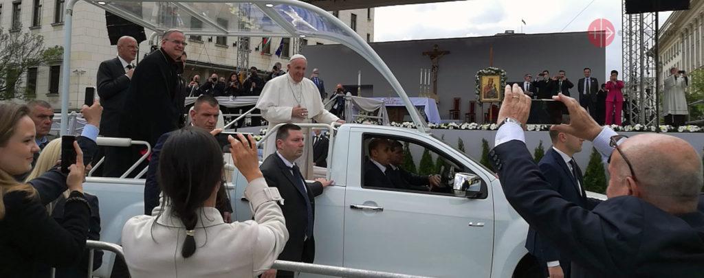 Papst Franziskus in Bulgarien und Nordmazedonien