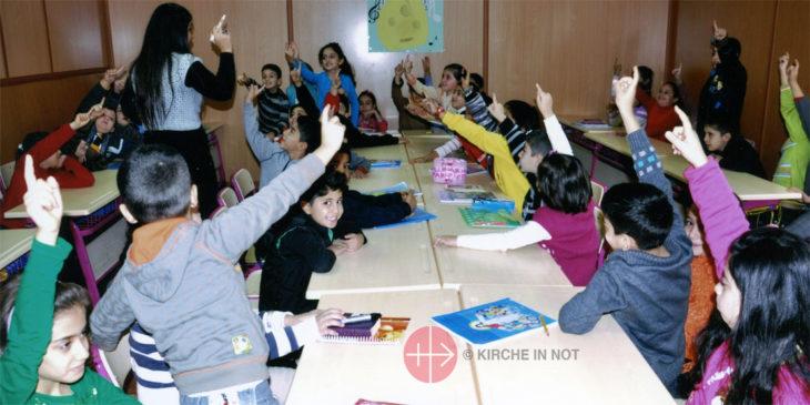 Kinderkatechese im Irak.