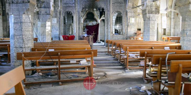 Kirche in Bartella innen