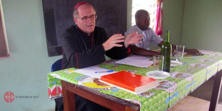 Miroslaw Gucwa, Bischof von Bouar (Zentralafrikanische Republik).