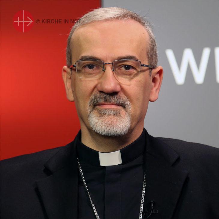 Erzbischof Pierbattista Pizzaballa.
