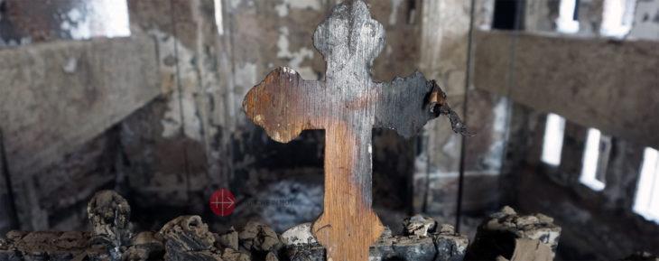 Verkohltes Kreuz