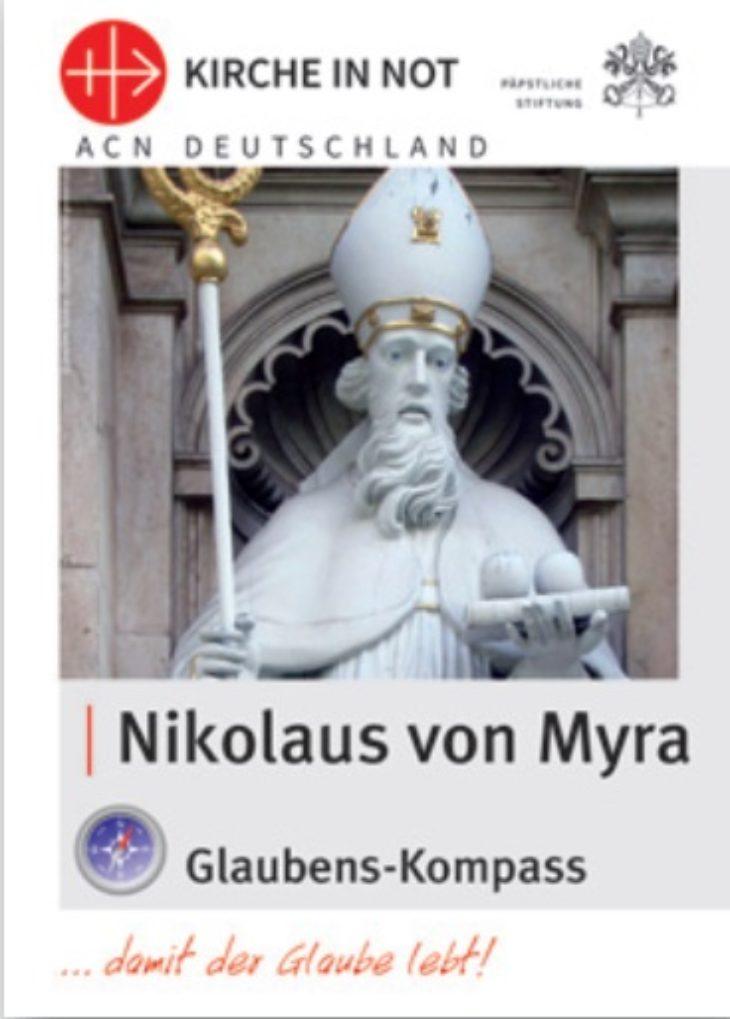 Glaubens-Kompass - Nikolaus von Myra (ab ca. Mitte November lieferbar)