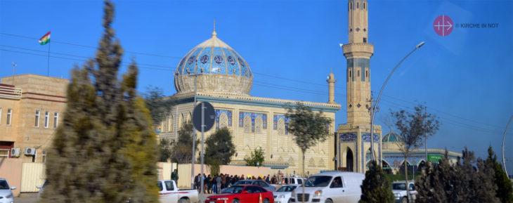 Moschee in Erbill/Irak.