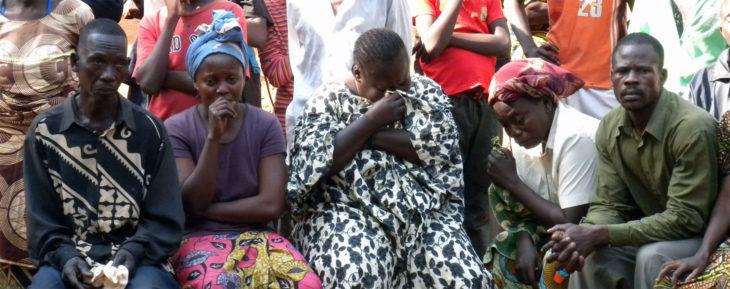 Zentralafrikanische Republik: Flüchtlinge (Foto: Pater Aurelio Gazzera).