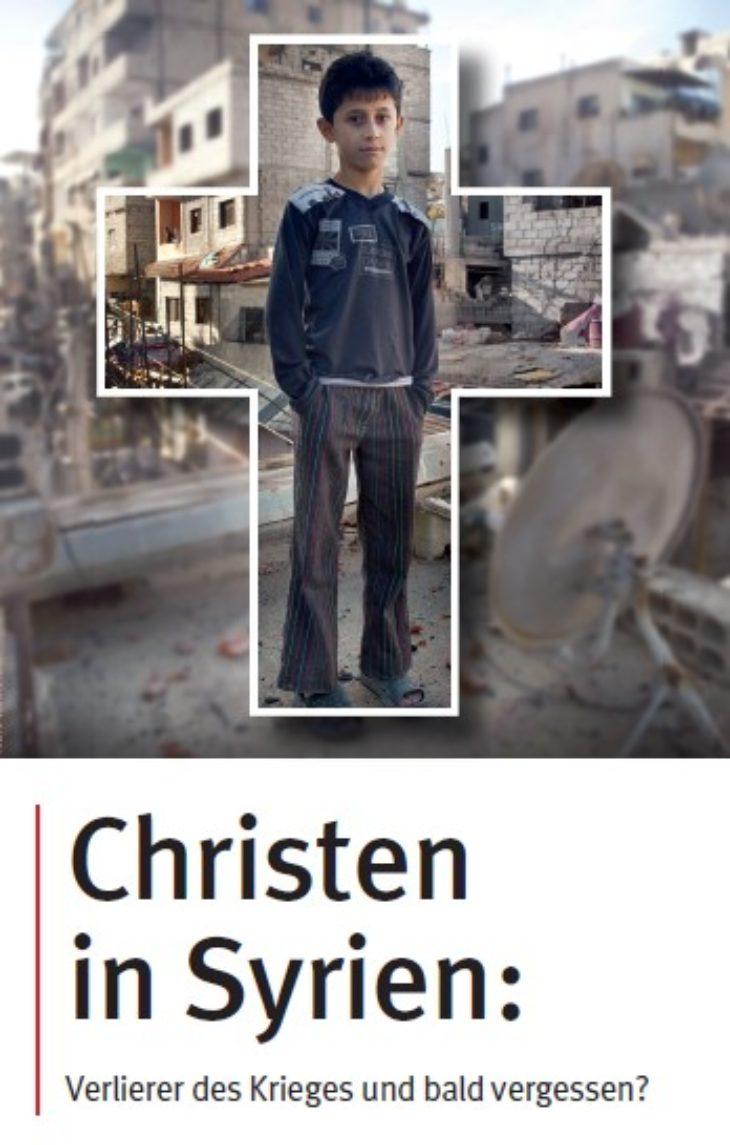 Flyer Christen in Syrien