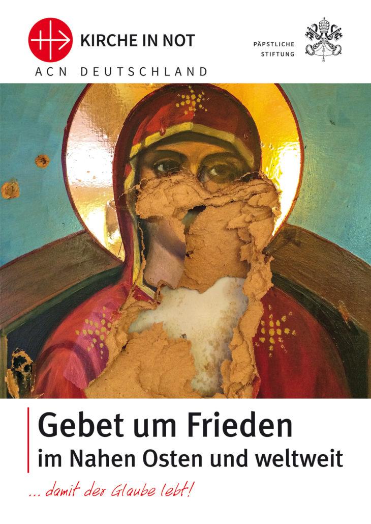 Gebetskarte um Frieden im Nahen Osten und weltweit
