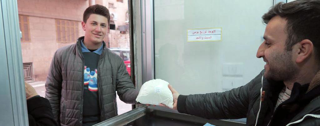Ein Tropfen Milch: Grundversorgung für Menschen in Aleppo