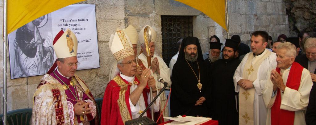 """Fest """"Kathedra Petri"""" am 22. Februar: Der erste Bischofssitz des Petrus lag in Antiochien"""