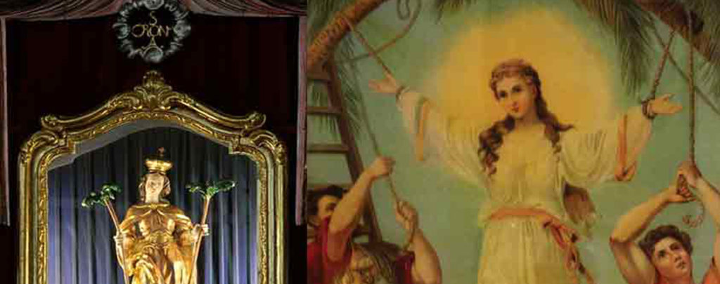 Eine wiederentdeckte Heilige: Corona, Patronin gegen Seuchen