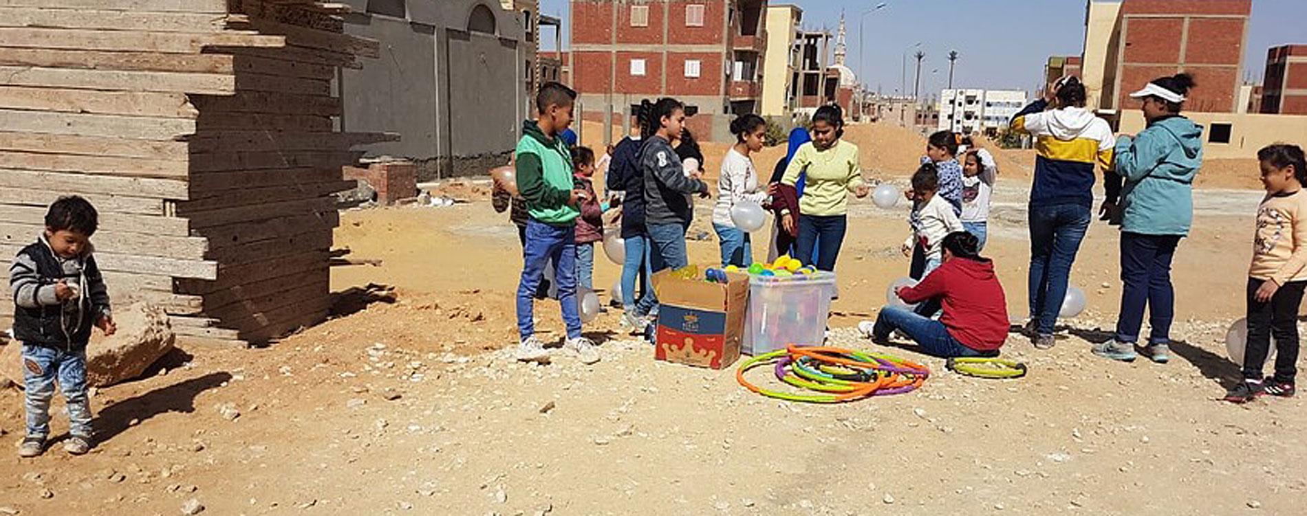Ägypten: Fertigstellung einer Kirche und eines Gemeindesaals