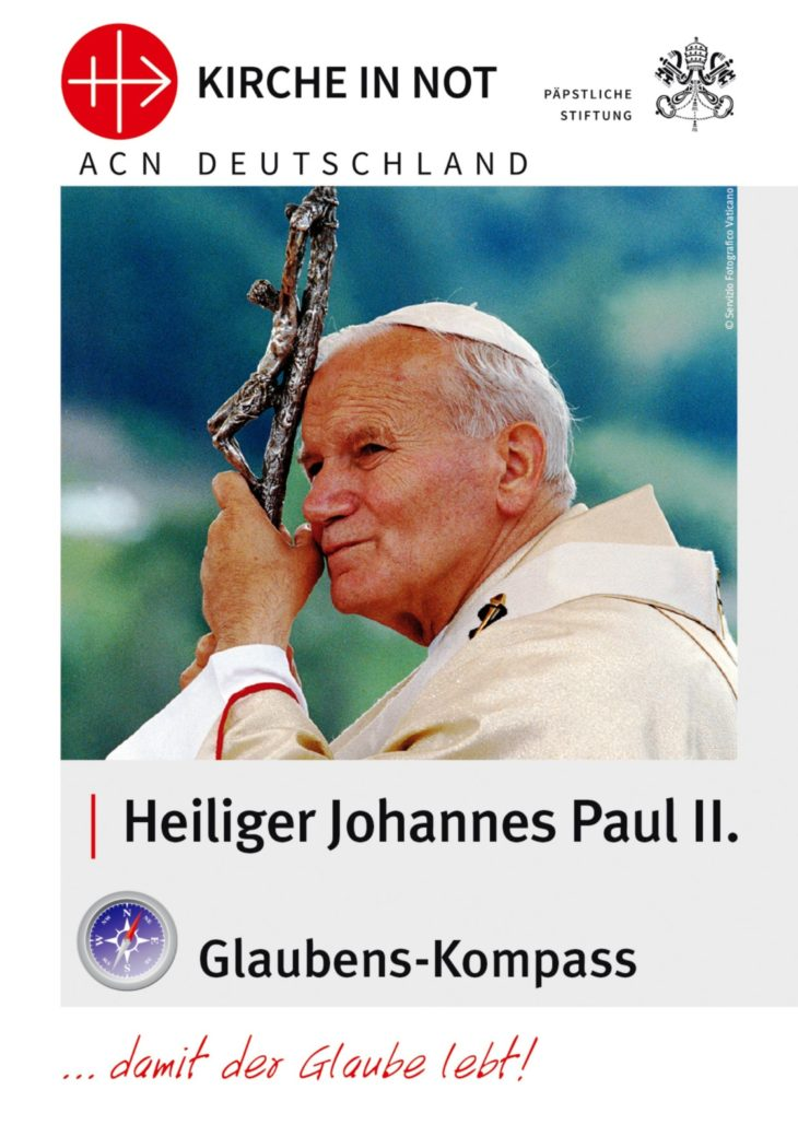 "Glaubens-Kompass <br/>""Heiliger Johannes Paul II."""